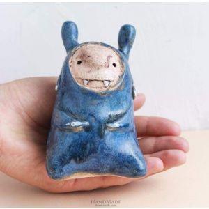 """Ceramic sculpture """"Troll"""""""