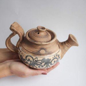 """Ceramic teapot """"Ethnic"""""""