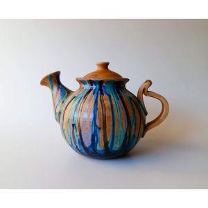 """Ceramic teapots """"Blue pastels"""""""