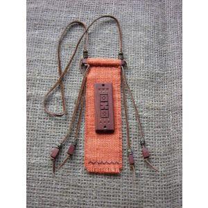 "Charm talisman pendant ""Terracotta"""