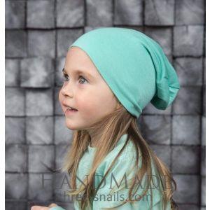 """Child hat """"Mint light"""""""