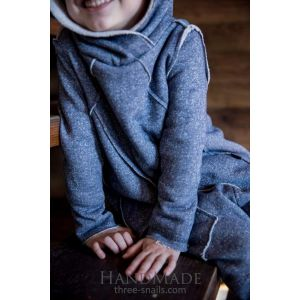 "Child hoodie ""Bat"" without buttons"