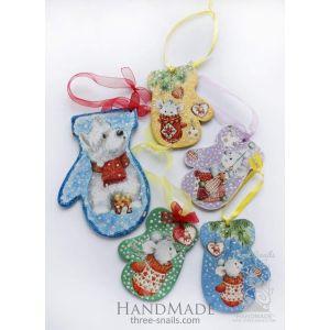 "Christmas toys set ""Gloves"""