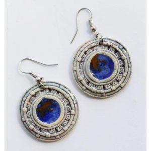 "Clay earrings ""Solaris"""