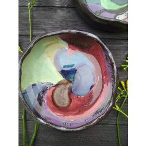 "Colorful bowl ""Bright life"""