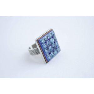 """Cool designer rings """"Blue"""""""