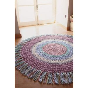 Cotton girls room rug
