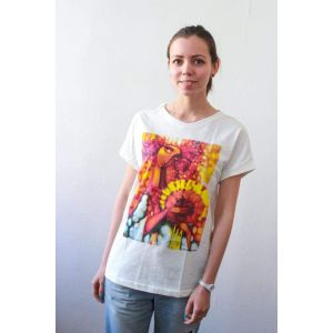 "Cotton T-shirt ""Bride"" women"