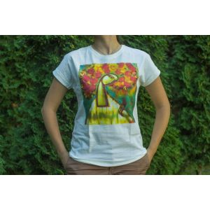 "Cotton T-shirt ""Dreaming Maria"" women"
