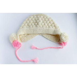 "Crochet baby hats ""Snowball"""