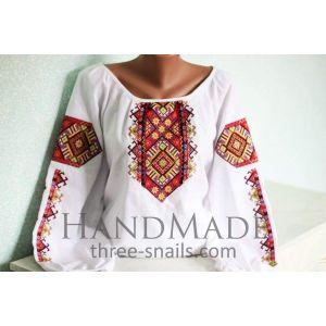 Custom emroidery shirts. Woman blouse (vyshyvanka)