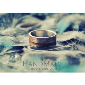 "Custom ring ""Plumage"""