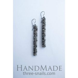 "Cute earrings ""Icicles"""