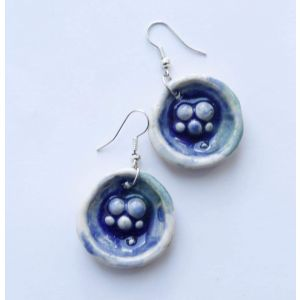"Cute earrings ""Sea bed"""