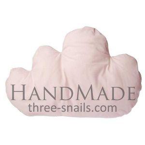 "Decorative bed pillows ""Light pink cloud"""