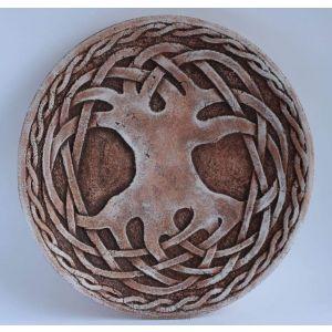"""Decorative ceramic plate """"Celtic knot"""""""