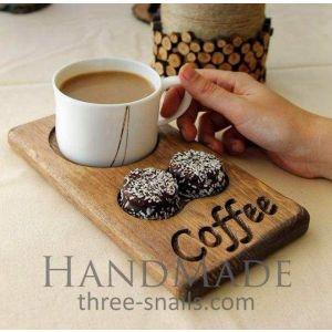 Decorative coffee mug stand