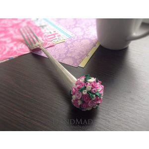 "Decorative fork ""Wedding Bouquet"""