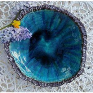 "Deep blue bowl ""Dark-blue imagination"""