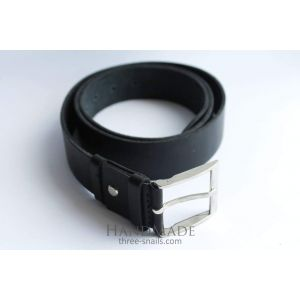 "Designer belts for men ""Black obelisk"""