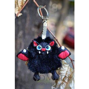 """Designer key rings """"Bat"""""""