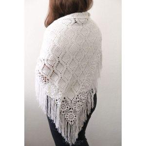 """Designer scarves """"Lace flowers"""""""