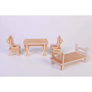 "Dolls house furniture ""Modern"""