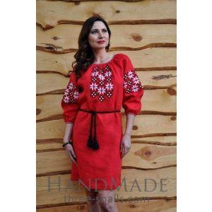"""Dress design """"Red rose"""""""