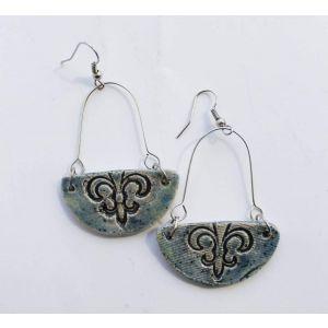 """Earrings for women """"Half moon"""""""