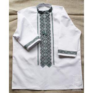"Embroidered mens shirt ""Melancholy star"""