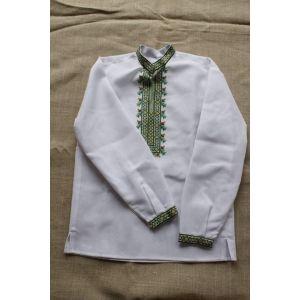 "Embroidered shirt ""Spring grass"""