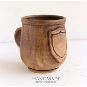 """Engraving cup """"Game of coffee"""""""