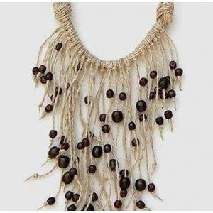 """Ethno Style Handmade Necklace """"Elderberry"""""""