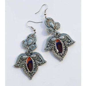 """Flower earrings """"Ancient beauty"""""""