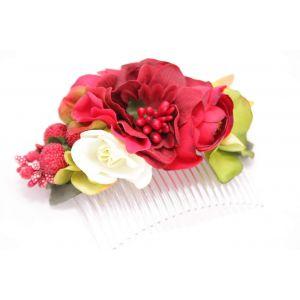 """Flower hair slide """"Garden odor"""""""