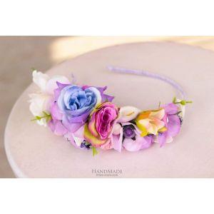 "Flower headbands for women ""Bright spring"""