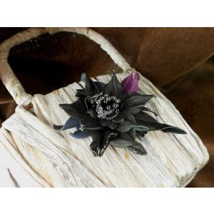"Hair pins ""Black dew"""