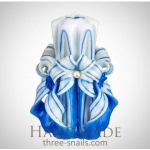 """Hand crafted candles """"Blue sky"""""""