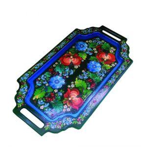 "Handcrafted tray ""Ancestors shadows"""