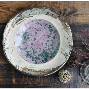 "Handmade ceramic bowls ""Lavender dream"""