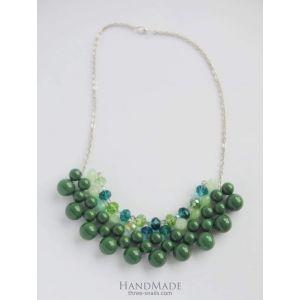 "Handmade collar necklace ""Lucia"""