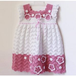 "Handmade crocheted dress ""Princess"""