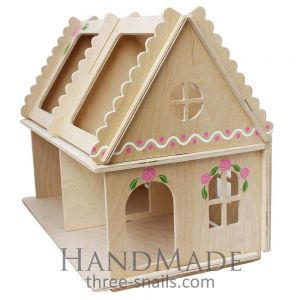 "Handmade doll house ""Two-story cottage"""