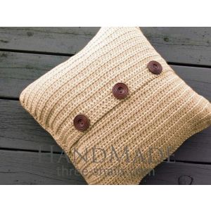 "Handmade pillow cover ""Coffee with milk"""