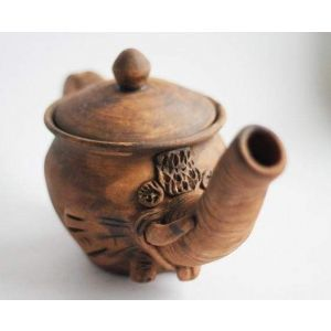 Handmade Pottery Pot «Little Elephant»