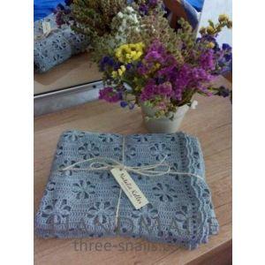 "Handmade Romantic Bedcloth ""Provence"""