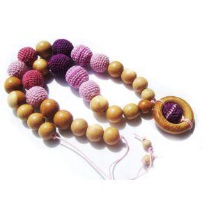 "Handmade sling beads ""Happy childhood"""