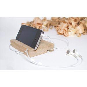 "Handmade wood stand for iPhone ""iHandy"""