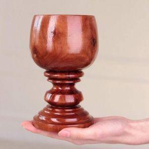 """Handmade wooden bowls """"Apple drop"""""""