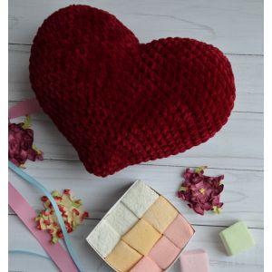 Big crochet heart